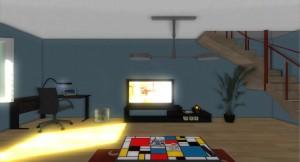 Simulateur photophobie - unity3D oculus