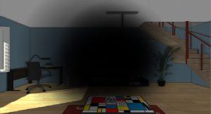 Simulation amputation du champ visuel - unity3D oculus - CEP CICAT